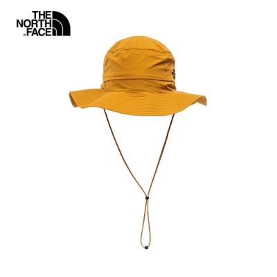 The North Face北面男女款棕色吸濕排汗漁夫帽|CF7TVC7
