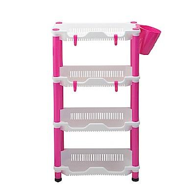 AA056 四層方形架 角落架 方形層架 置物架收納架 收納柜 浴室架 多層收納 整理架