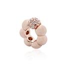 Pandora 潘朵拉 光滑密鑲圓珠 玫瑰金純銀墜飾 串珠