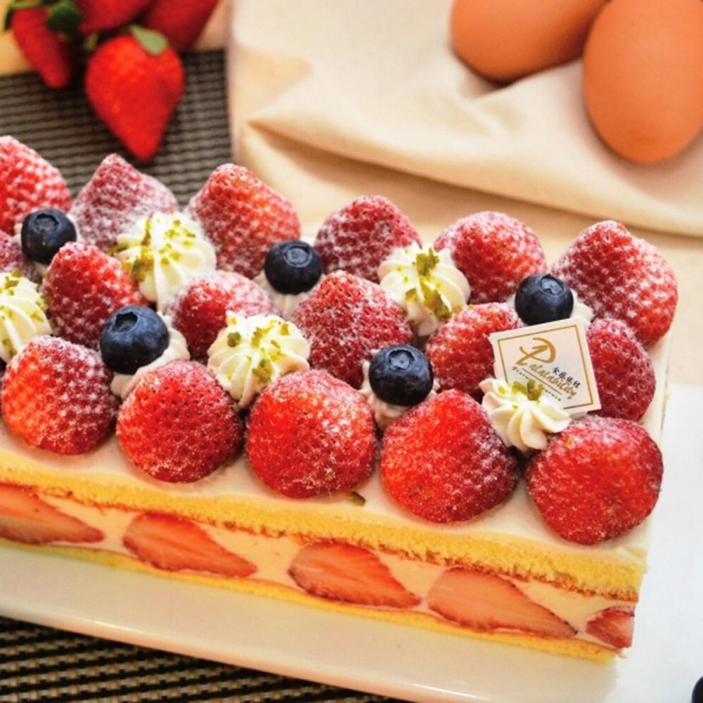 食感旅程Palatability  北海道雪藏草莓蛋糕