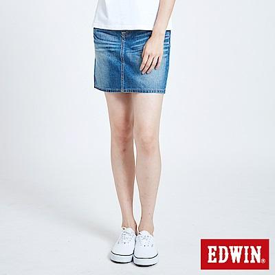 EDWIN MISS EDWIN503基本牛仔短裙-女-中古藍