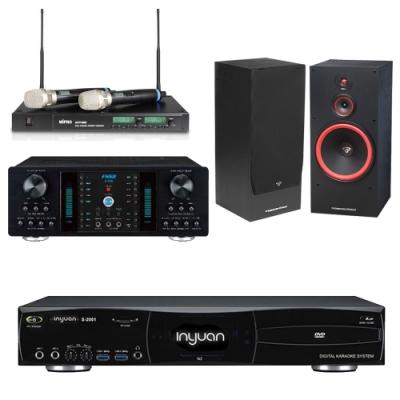音圓N2+FNSD A-350+ACT-880+SL-15(伴唱機 4TB+卡拉OK套組)
