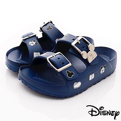 迪士尼童鞋 米奇超輕拖鞋款 ON19375藍(中小童段)