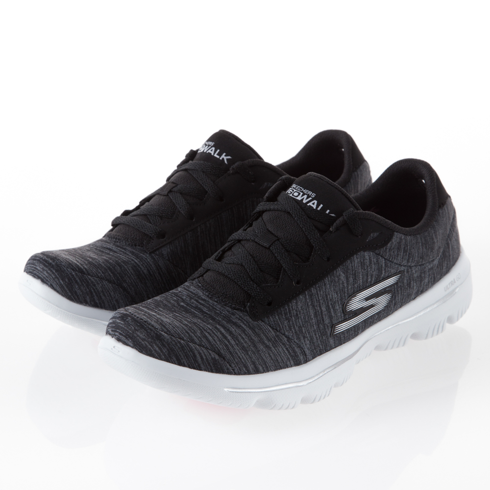 SKECHERS 女 健走GO WALK EVOLUTION-15756WBKW