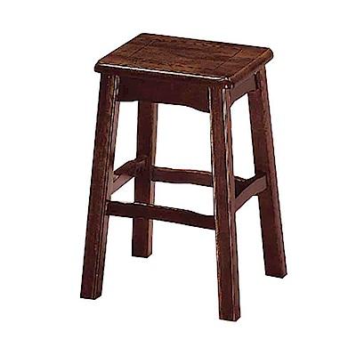 Boden-古亭胡桃小椅凳/板凳-28x28x45cm