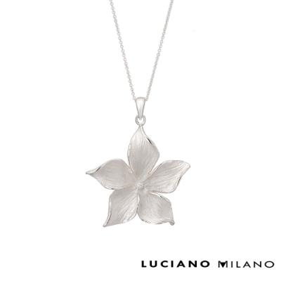 LUCIANO MILANO 緬梔花純銀墜飾(贈基本鍊)