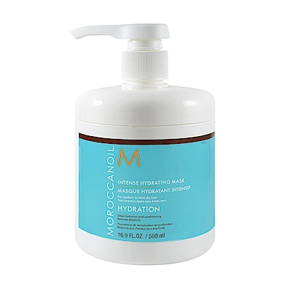 Moroccanoil 摩洛哥優油 優油高效保濕髮膜 500ml (壓頭式)