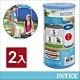 【INTEX】游泳池配件-簡易濾水器濾心桶(2入組)(29002E) product thumbnail 1