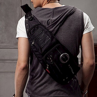 BuyGlasses 多功能水滴式單肩背包