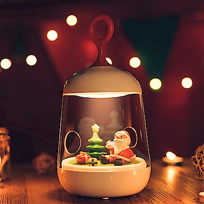 半島良品 微景觀小夜燈聖誕款