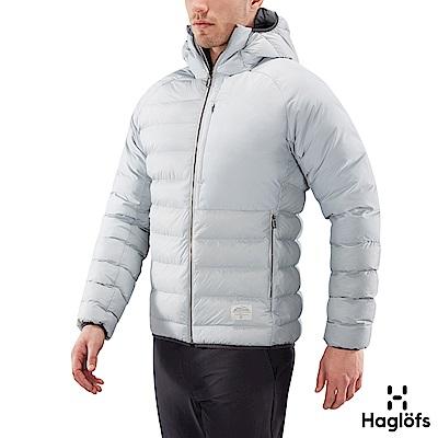 Haglofs 男 Dala Mimic 保暖化纖連帽外套 石灰