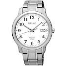 SEIKO精工 CS 數字時尚藍寶石鏡面腕錶(SGEH67P1)-白/41mm