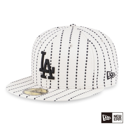 NEW ERA 59FIFTY 5950 WORK STITCH 道奇 象牙白 棒球帽