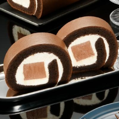 亞尼克生乳捲 巧克力雪糕*2(週六到貨免運)