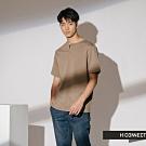 H:CONNECT 韓國品牌 男裝-縫線設計素面短T-卡其