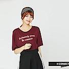 H:CONNECT 韓國品牌 -簡約扭結髮帶-灰