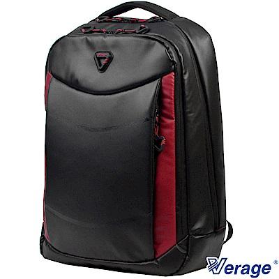 Verage ~維麗杰 RFID防盜時尚雙層後背包(黑)