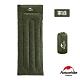 Naturehike 升級版H150舒適透氣便攜式信封睡袋 標準款 軍綠-急 product thumbnail 2