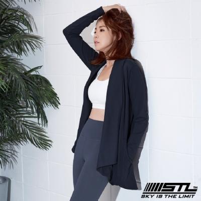 STL Metro Cardigan 韓國運動開襟長版罩衫外套 海軍藍