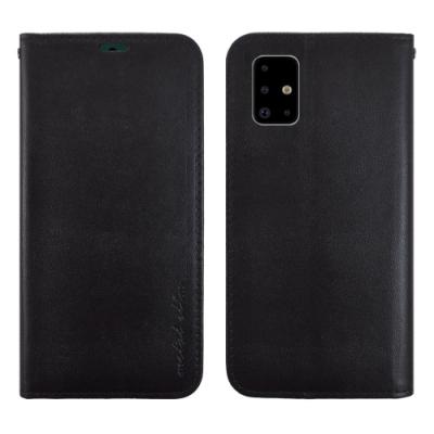 Metal-Slim Samsung Galaxy A71 高仿小牛皮多卡位TPU站立皮套