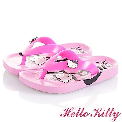 (雙11)HelloKitty 舒適減壓拖鞋童鞋-粉