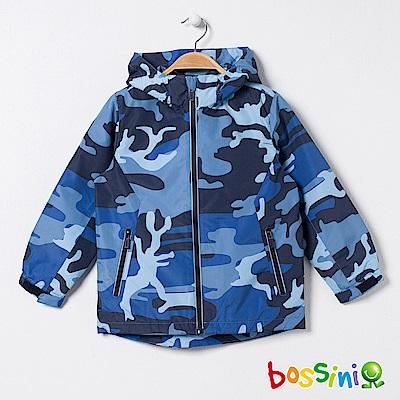 bossini男童-多功能百搭外套02藍紫