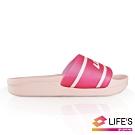 LOTTO 義大利 Highlight 兒童拖鞋 (粉紅)