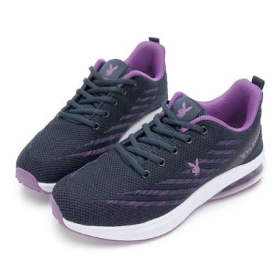 PLAYBOY Candy Bubble Plus 輕量氣墊休閒鞋-藍紫-Y7235FA