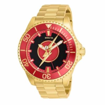 INVICTA 英威塔 DC 正義聯盟限量聯名款 閃電俠 機械錶