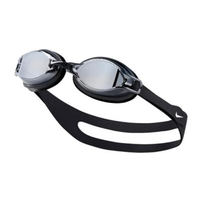 Nike 泳鏡 Chrome Mirror Goggle 游泳池 蛙鏡 訓練型 成人 鏡面 黑 白 NESS7152001