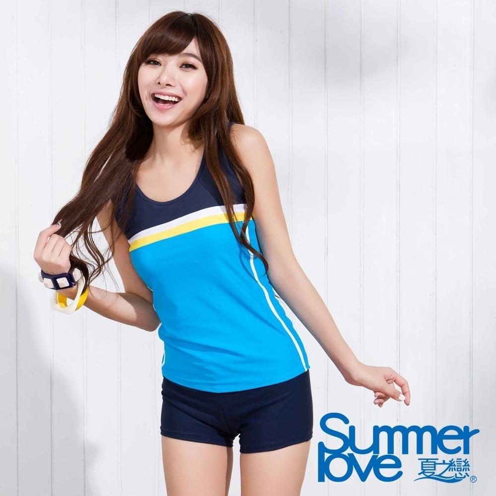 夏之戀SUMMERLOVE 大女運動風二件式泳衣