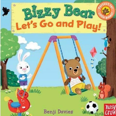Bizzy Bear:Let s Go And Play! 新奇操作書(美國版)