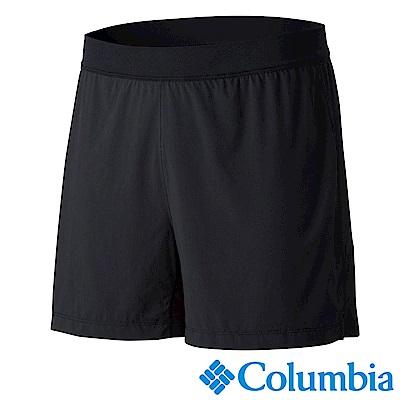 Columbia 哥倫比亞 男款-野跑涼感快排短褲-黑色 UAE13090BK