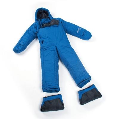Selk Bag 神客睡袋人5G Lite 化纖保暖睡袋 海港藍 11°C