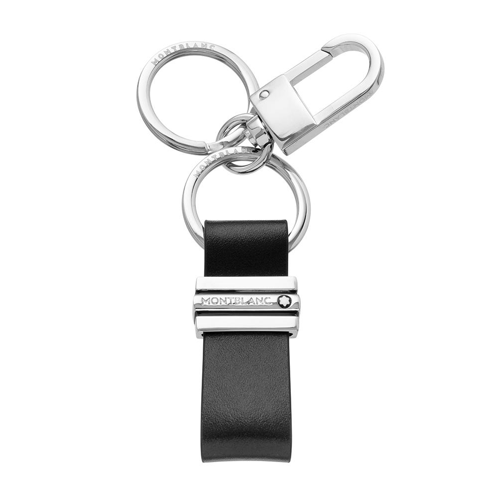 Montblanc 萬寶龍大班系列牛皮雙扣環鑰匙圈