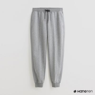 Hang Ten - 男裝 - 純色抽繩休閒長褲 - 灰