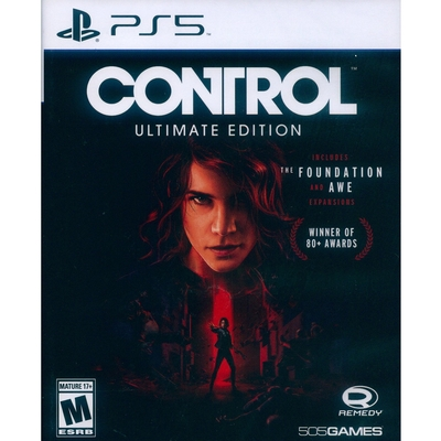 控制 終極版 CONTROL: ULTIMATE EDITION - PS5 中英文美版