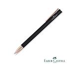 Faber-Castell SLIM NEO 霧黑玫瑰金夾 鋼珠筆