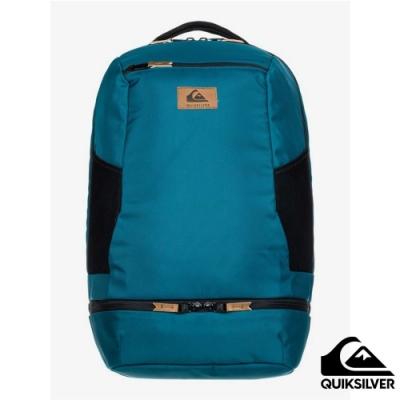 【QUIKSILVER】EXHAUST PACK 後背包 藍綠