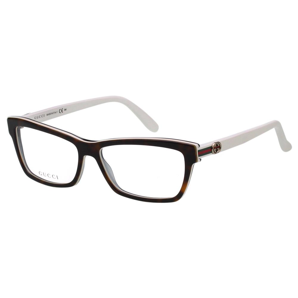 GUCCI 光學眼鏡 (琥珀色)GG3562