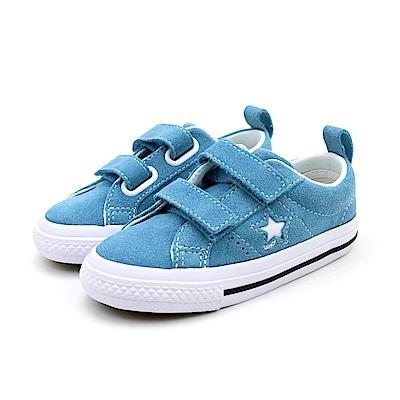 CONVERSE-ONE STAR 童鞋-藍
