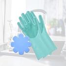 多魔潔 食品級矽膠製魔法矽膠清潔家超值組合包(1入,內含矽膠手套*1+萬用刷*1)