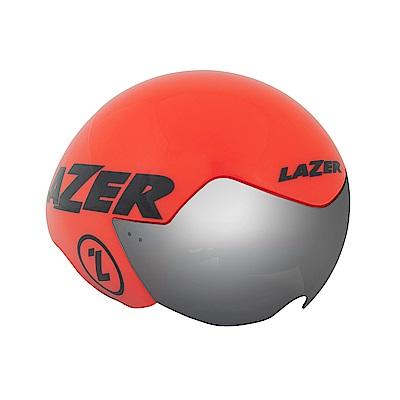 【LAZER】VICTOR 三鐵/計時安全帽 橘