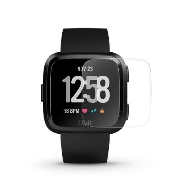 T.G Fitbit Versa 高透3D防爆水凝膜螢幕保護貼-非滿版(2入)