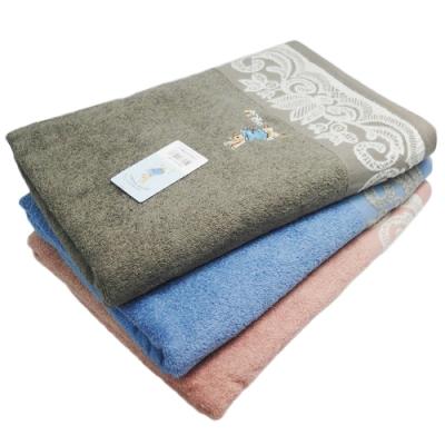 比得兔提緞精繡浴巾2入 -PR476/PR20111-BT