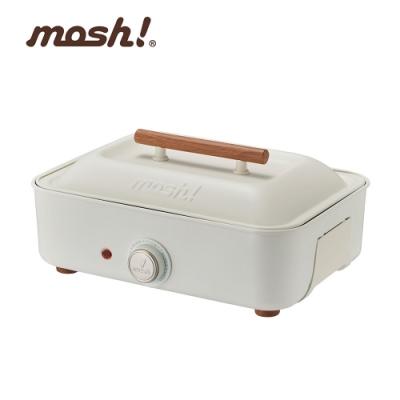 mosh多功能電烤盤 M-HP1 IV 白