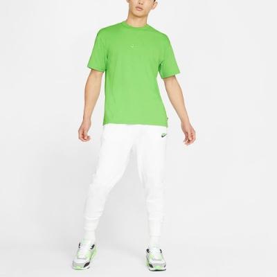 NIKE 短袖上衣 休閒 慢跑 運動 男款 綠 DB3194304 AS M NSW TEE PREMIUM ESSENTIAL