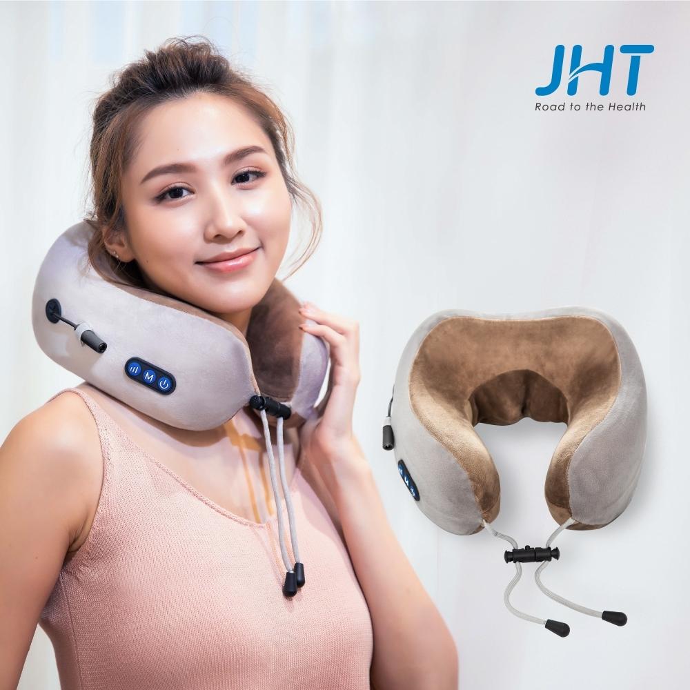 JHT U型包覆無線按摩枕 K-1588