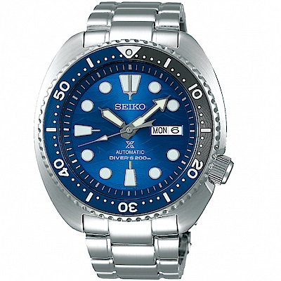 SEIKO精工PROSPEX系列藍色浪潮潛水機械錶(SRPD21J1)