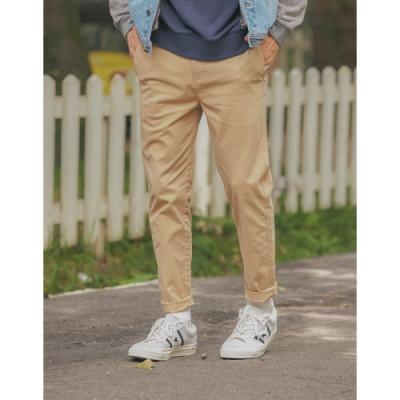 CACO-彈性修身窄管褲(二色)-男【A1AR013】